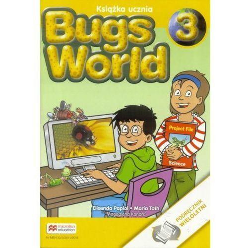 Bugs World 3 Książka ucznia (wersja wieloletnia) - Praca zbiorowa, Macmillan