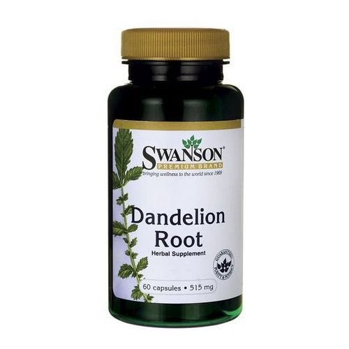 Kapsułki Swanson Dandelion Root (Mniszek Lekarski) 515mg 60 kaps