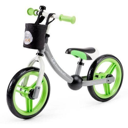 Kinderkraft rowerek biegowy 2way next green + akc. - kkr2wnxgre00ac (5902533911103)