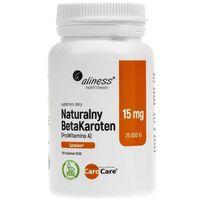 Tabletki Aliness Naturalny BetaKaroten 15 mg - 100 tabletek