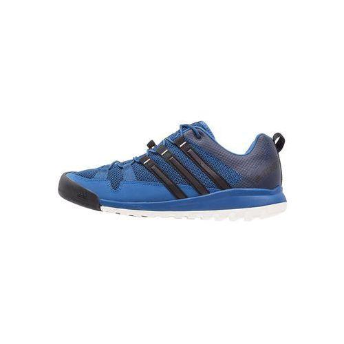 Adidas Performance TERREX SOLO Półbuty trekkingowe core blue/core black/collegiate navy