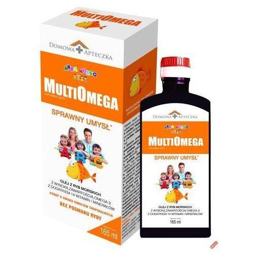 Multiomega syrop 165ml smak owocowy Domowa apteczka