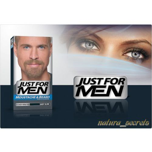 Brodawąsyboczki M 10 Popielaty Blond Just For Men Ceny