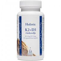 Holistic K2+D3 w oleju kokosowym 60 kaps. (7350012331351)