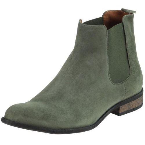 Botki Nessi 59204 - Zielone 195, kolor zielony