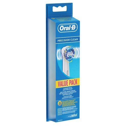 Oral B Końcówki Precision Clean Eb 20 8 Braun Ceny Opinie