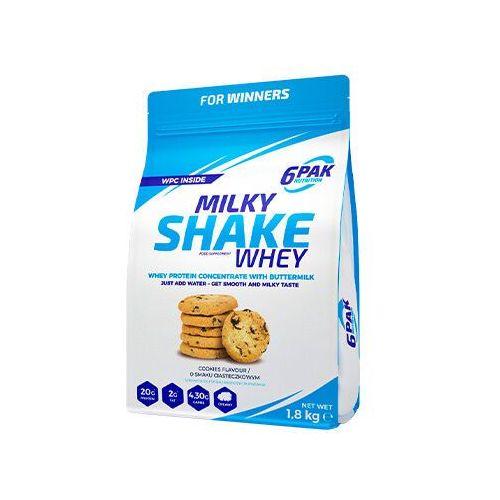 6PAK Milky Shake Whey - 1800g - Cookie