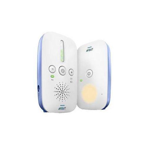Elektroniczna niania avent scd501/00 biała/niebieska Philips