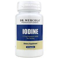 Dr Mercola Iodine (Jod) 1500 mcg - 30 kapsułek