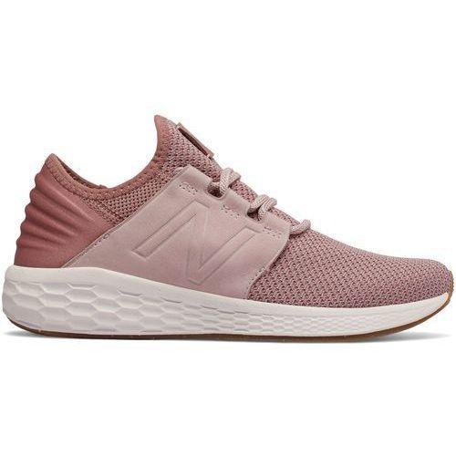 Buty New Balance WCRUZNA2, kolor różowy
