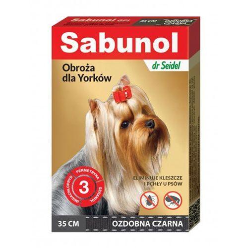 Bezzapachowa obroża przeciw pchłom i kleszczom 35 cm Sabunol