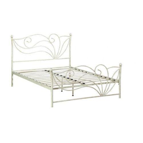 łóżko Imperatrice 160 200 Cm Metal O Wyglądzie Kutego żelaza Vente Unique