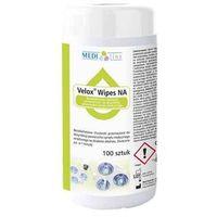 Medisept Velox wipes na - bezalkoholowe chusteczki do dezynfekcji powierzchni box 100szt. (5907626633993)
