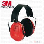 Ochronniki słuchu PELTOR 3M Bull's Eye I - czerwone