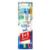 Oral-b 3d white fresh 40 medium szczoteczka do zębów 1+1 sztuka gratis