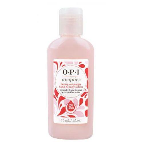 Avojuice peony & poppy hand & body lotion balsam do dłoni i ciała - peonia i mak (28 ml) Opi - Ekstra oferta