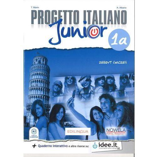 Progetto Italiano Junior 1A 7 Zeszyt ćwiczeń - Marin T. (9788365283177)