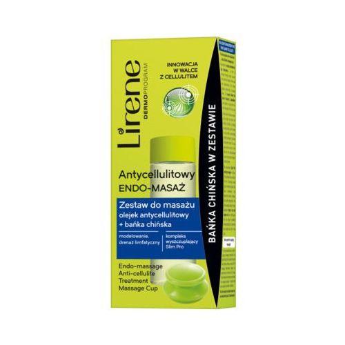 100ml antycellulitowy endomasaż olejek antycellulitowy do masażu + bańka chińska Lirene