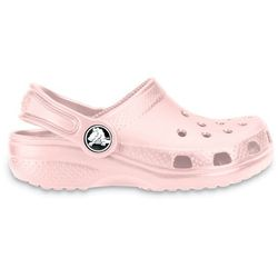 Crocs Buty klapki classic kids 10006 cotton - różowy