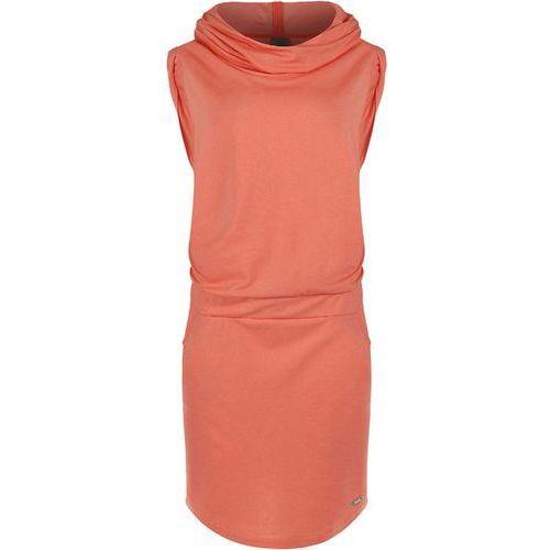Sukienka BENCH - Offsetta Coral (PK032) rozmiar: S, kolor pomarańczowy