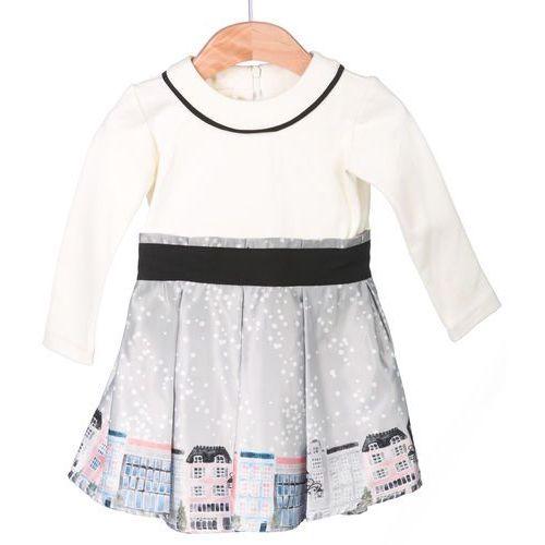 8ccd71e4 Sukienka dziewczęca 86 szary (Primigi)