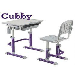 Regulowane biurko i krzesło dziecięce Cubby Lupin