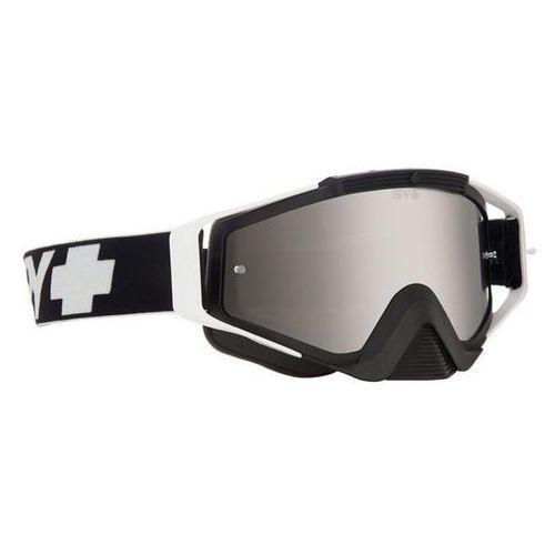 Spy Gogle narciarskie omen mx black - smoke w/silver mirror +clear afp