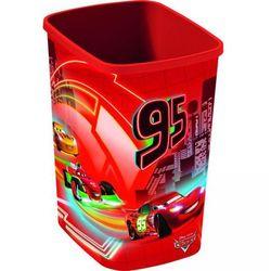 Kosz na śmieci dla dzieci bez pokrywy DECO 10L CAR CURVER