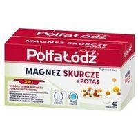 Tabletki Magnez Skurcze + Potas x 40 tabletek