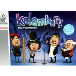 Beniamin Kalambury - gra planszowa. pokaż opisz zaśpiewaj narysuj