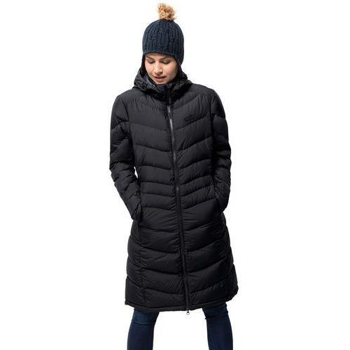 Jack wolfskin Płaszcz puchowy selenium coat black - xs