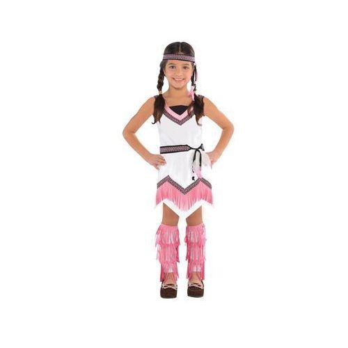 Amscan Kostium indianka dla dziewczynki - 3/5 lat (104) (0013051579326)