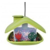 Karmnik dla ptaków domek zielony