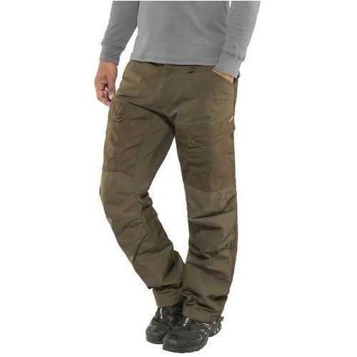 Fjällräven lappland spodnie długie mężczyźni oliwkowy 54 2018 spodnie i jeansy