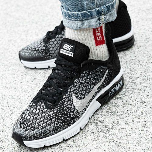 air max sequent 2 gs (869993-001) marki Nike