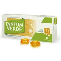 Pastylki TANTUM VERDE Pastylki do ssania smak miodowo-pomarańczowy x 30