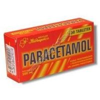 Tabletki PARACETAMOL x 30 tabletek