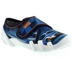 Kapcie dla dzieci 273x207 skate - niebieski ||kolorowy marki Befado