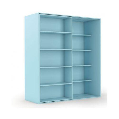 B2b partner Biblioteka double, błękitna