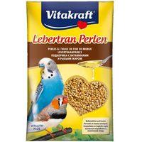 VITAKRAFT Lebertran Perlen - pokarm z tranem dla papugi falistej 20g