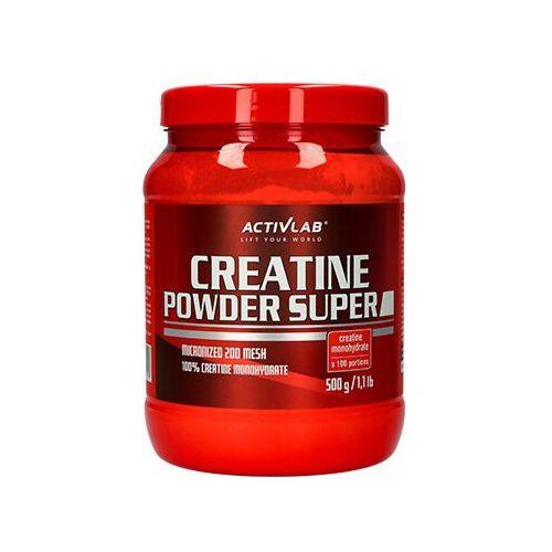 ACTIVLAB Creatine Powder - 500g - Orange