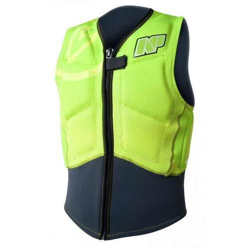 Kamizelka rise, np impact vest front zip 2015 c2-lime Neil pryde