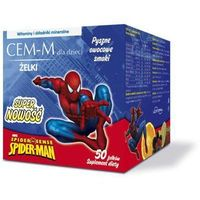 CEM-M Spiderman x 50 żelków