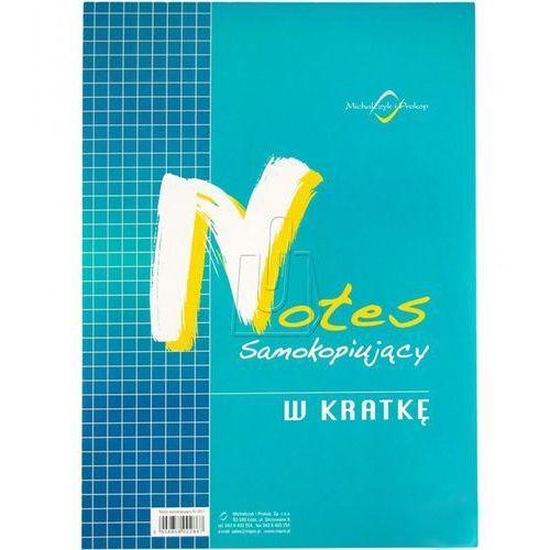 Notes samokopiujący A6 w kratkę (N-105-5), A1259