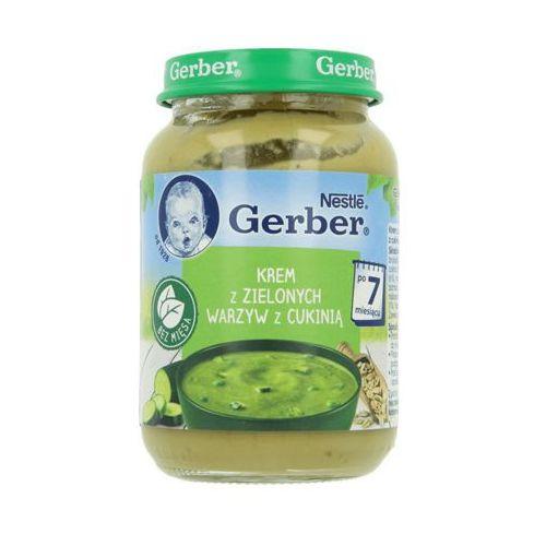 190g obiadek krem z zielonych warzyw po 7 miesiącu Gerber