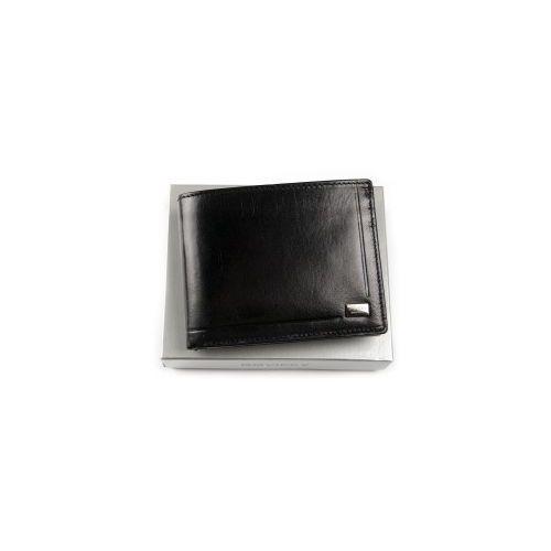 Portfel męski skórzany pc103 bar c czarny Rovicky