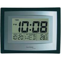 Zegar ścienny cyfrowy Techno Line WS 8004, (SxWxG) 220 x 170 x 35 mm (4029665080048)