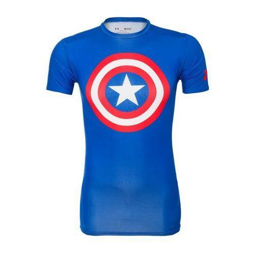 Under Armour ALTER EGO Podkoszulki captain america bleu/blanc/rouge, kolor niebieski