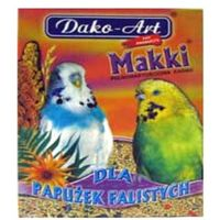 Dako art makki pokarm dla papużek falistych 500g marki Dako-art