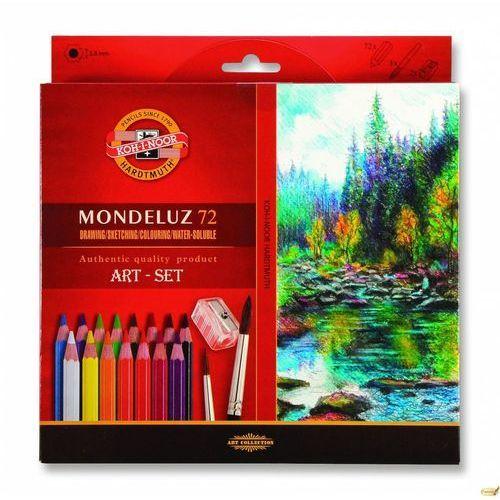 Koh-i-noor Kredki mondeluz 72 kolory + pędzel